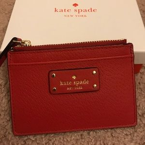 Authentic Kate Spade Adi Grove Street Cardholder